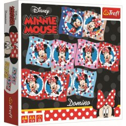 Disney Minnie egér dominó Trefl