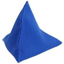 Piramis babzsák kék