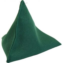 Piramis babzsák zöld
