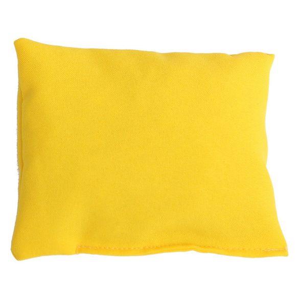 Babzsák sárga négyzet