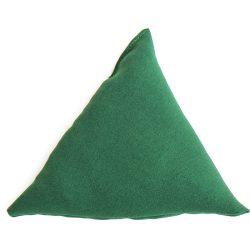Babzsák zöld háromszög