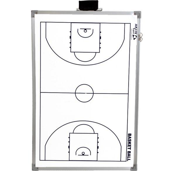 Aktivsport Taktikai mágnestábla 60x90 kosárlabda