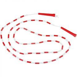 Gyöngyös ugrálókötél Aktivsport fehér-piros