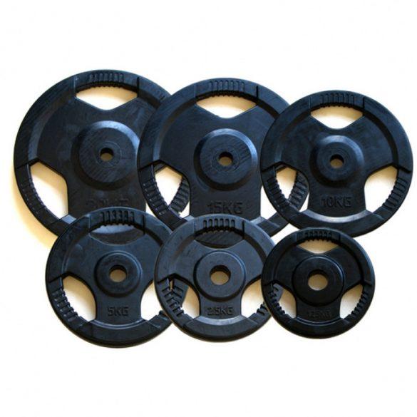 Aktivsport Gumírozott súlyzótárcsa 1,25 kg 51 mm