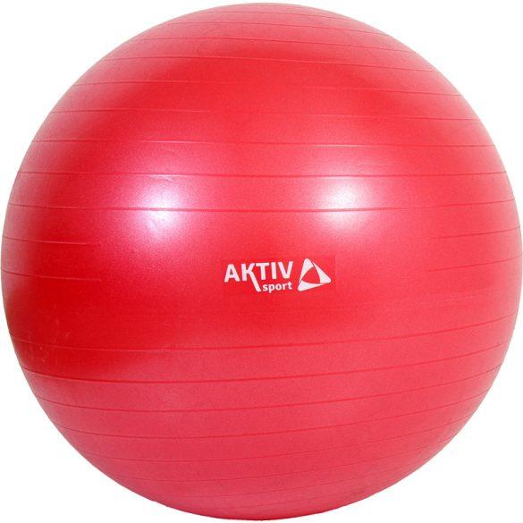 Durranásmentes labda Aktivsport 75 cm piros