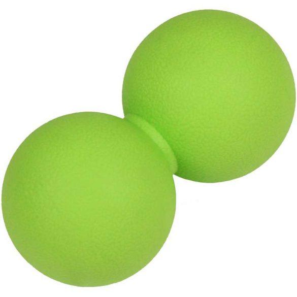 Dupla masszázs labda Aktivsport zöld