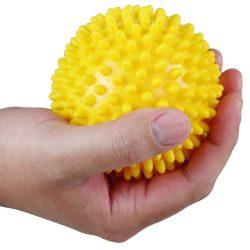 Tüskés masszírozó labda 9 cm Aktivsport