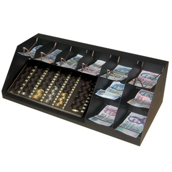 10 rekeszes bankjegytároló érmetálcával (BET-10F)