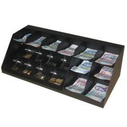10 rekeszes bankjegytároló maroktálcával (BMT-10F)