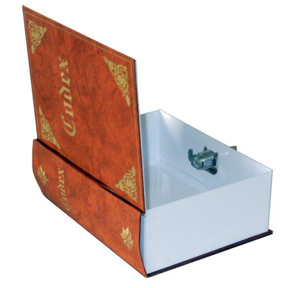 Könyvek közé rejthető pénzkazetta