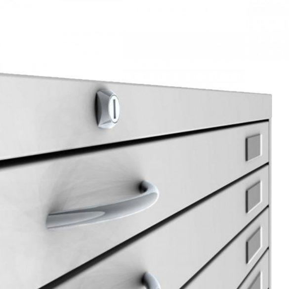 Map Storage A/1 méretű 10 fiókos térképtároló szekrény