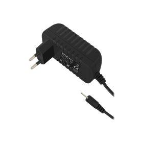 Qoltec Telefon és Tablet töltő 5V 2.5x0.7 - Fekete