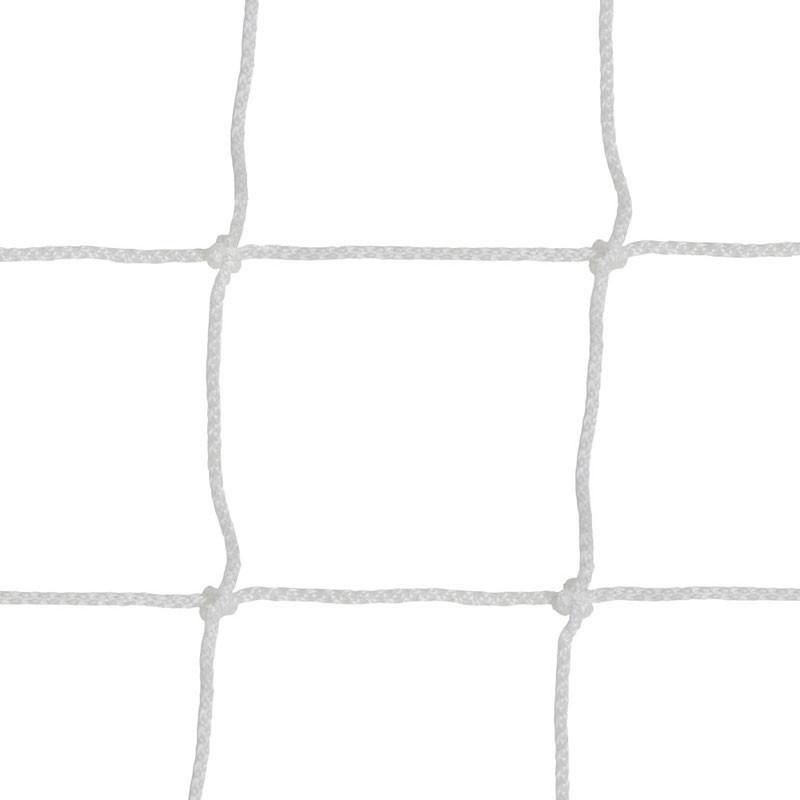 Kézilabdaháló Aktivsport 8x8 cm osztás 3,5 mm fehér